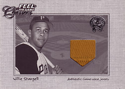 "2001 Fleer Greats ""Feel the Game Classics"" Willie Stargell Jersey #22"