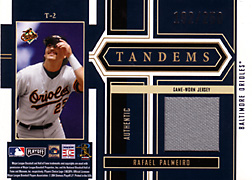 2004 Playoff Honors #T2 Rafael Palmeiro Jersey