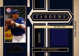 2004 Playoff Honors #T2 Alex Rodriguez Jersey