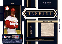 2004 Playoff Honors #T5 Lou Brock Jersey