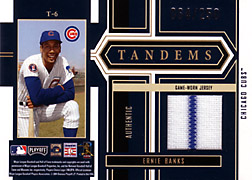 2004 Playoff Honors #T6 Ernie Banks Jersey