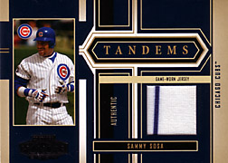 2004 Playoff Honors #T6 Sammy Sosa Jersey