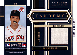 2004 Playoff Honors #T8 Dwight Evans Jersey
