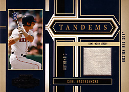 2004 Playoff Honors #T8 Carl Yastrzemski Jersey