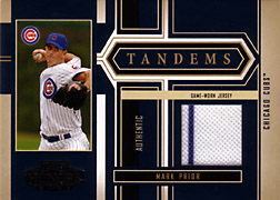2004 Playoff Honors #T13 Mark Prior Jersey