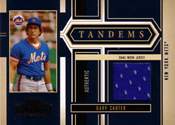 2004 Playoff Honors #T16 Gary Carter Jersey