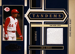 2004 Playoff Honors #T22 Eric Davis Jersey