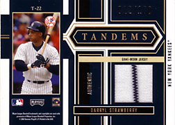 2004 Playoff Honors #T22 Darryl Strawberry Jersey