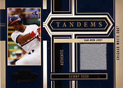 2004 Playoff Honors #T29 Sammy Sosa Jersey