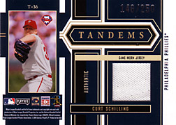 2004 Playoff Honors #T36 Curt Schilling Jersey