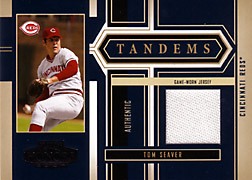 2004 Playoff Honors #T36 Tom Seaver Jersey