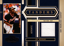 2004 Playoff Honors #T37 Joe Morgan Jersey