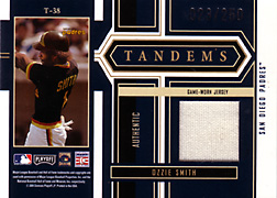 2004 Playoff Honors #T38 Ozzie Smith Jersey