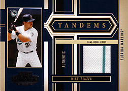 2004 Playoff Honors #T39 Mike Piazza Jersey